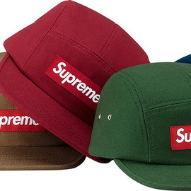 Supreme - Canvas Camp Cap