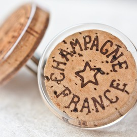 daimblond - Champagne Cork Cocktail Ring