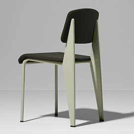 Prouvé RAW - Standard SR, chairs