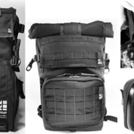Inside Line Equipment - The Ultimate Photographers Bag / Prime +MOLLE (BLACK)