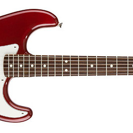 Fender - Standard Stratocaster, Rosewood Fretboard, Candy Apple Red