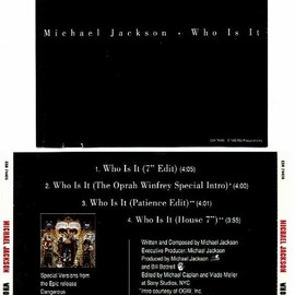 Michael Jackson - Who Is It (Promo Single)