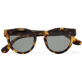 Westward Leaning - Voyager 4 round-frame matte-acetate sunglasses