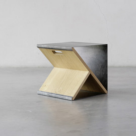 Noon Studio - Steel Stool