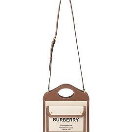 BURBERRY - Mini Shopper Canvas