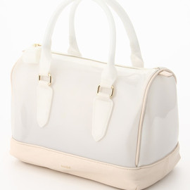 snidel - clear boston bag