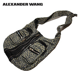 ALEXANDER WANG - DONNA IN BEIGE LEOPARD PRINT WITH NICKEL