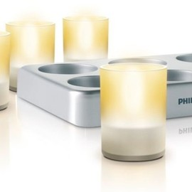 Philips - Philips Imageo LED Rechargeable Tea Lights
