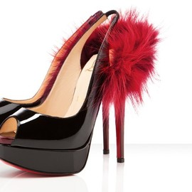 Christian Louboutin - lady fur fur