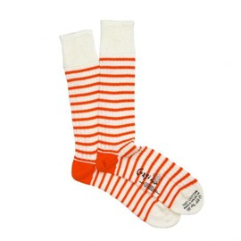 Corgi Hosiery - THIN STRIPE ORANGE
