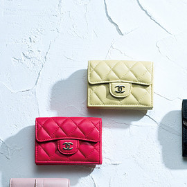 CHANEL - classic small wallet