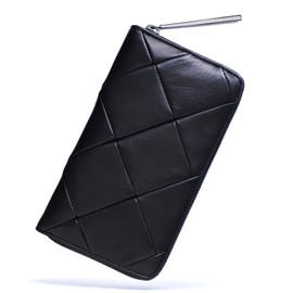 KENJIIKEDA - ROUND ZIP WALLET PULSE