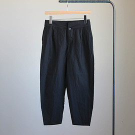 YAECA - Tuck Pants #black