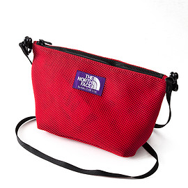 THE NORTH FACE PURPLE LABEL - Mesh Pouch M (RED)