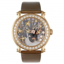 Chopard - Chopard Watches A superb lady's happy sport diamond and gem-set panda watch