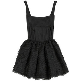 miu miu - Miu Miu Corset mini dress