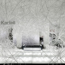 "吉岡徳仁, Tokujin Yoshioka - ""Snowflake"" Installation, The Invisibles, Kartel Gallery"