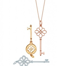 Tiffany & Co. - Knot Key Pendants