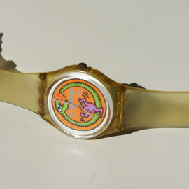 Swatch - Keith Haring Swatch(1985)