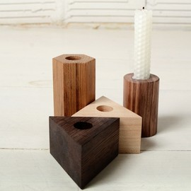 JOINERY - Shapes Candlesticks - LIVING