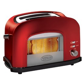 Red Pop-Up Hot Dog Toaster