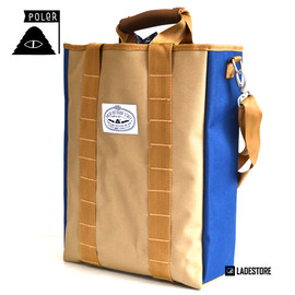 POLeR OUTDOOR STUFF - The Utility Tote / Navy/Khaki