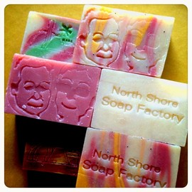 North Shore Soap Factory - さまぁ〜ず刻印の石鹸♡