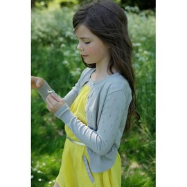 ilovegorgeous - Pointelle Cardigan - Grey