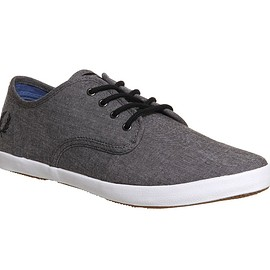 FRED PERRY - Foxx Canvas black chambray
