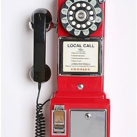 urban outfitters - crosley pay phone
