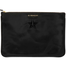 Givenchy - Horn Star Leather Pouch