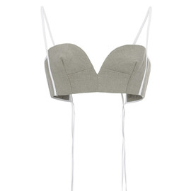 MARNI - SS2015 Linen Canape Bustier Top