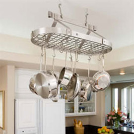 Enclume - Oval Pot Rack with Grid
