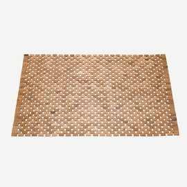 THE CONRAN SHOP - WOODBLOCK TEAK MAT