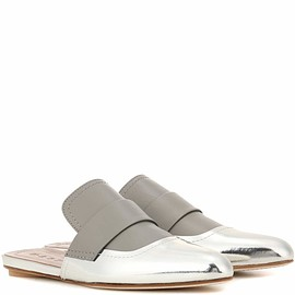 MARNI - leather slip-on sandals - Exclusive to mytheresa.com