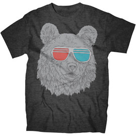 JCPenney - 3-D Glasses Bear Tee
