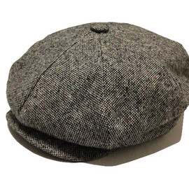 NEW YORK HAT - NEW YORK HAT  TWEED-NEWSBOY #9030
