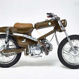 Honda - Cub: Dirty Donkey