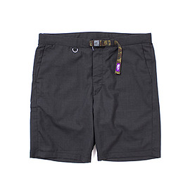 THE NORTH FACE - THE NORTH FACE PURPLE LABEL COOLMAX® Tropical Webbing Belt Shorts