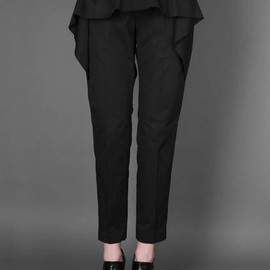 Dries Van Noten - ANKLE LONG TROUSERS WITH FRONT SKIRT