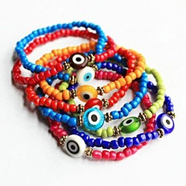julyjoy - Evil Eye Beads Bracelet