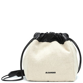 JIL SANDER - JIL SANDER DRAWSTRING SMALL CROSSBODY BAG