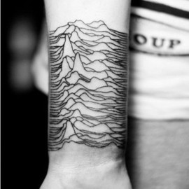 Joy Division - Unknown Pleasures Tattoo