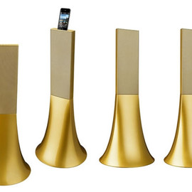 Philippe Starck - the Ancient Gold Zikmu speakers
