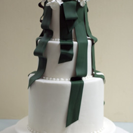 A Piece O' Cake, - Amanda & Jason's Wedding Cake