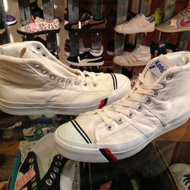 "PRO-Keds - 「<used>1990s PRO-Keds ROYAL No.1 white""made in USA"" size:26.5cm 8800yen」完売"