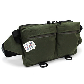 FREDRIK PACKERS - *BIKE PACK LIGHT(S)* olive green x gray