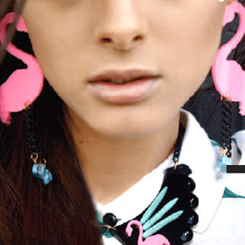 MELODY EHSANI - PINK LADY COLLAR