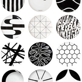 Ten Swedish Designers - Plates with pattern from Swedish 10-Gruppen/Ten Swedish Designers.