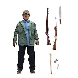 """NECA - Jaws – Sam Quint Clothed 8"""" Action Figure"""